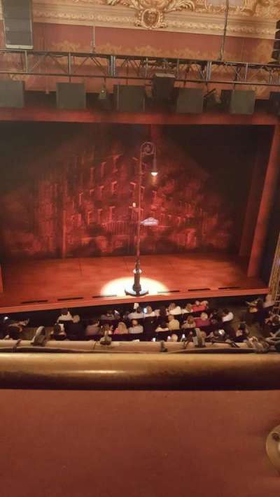 Longacre Theatre section Balcony