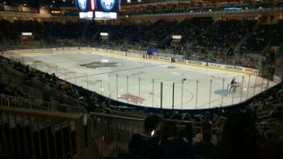 Ricoh Coliseum, section: 107, row: L, seat: 15