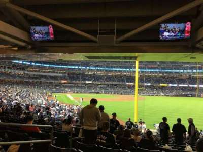 Yankee Stadium, section: 108, row: 19, seat: 18