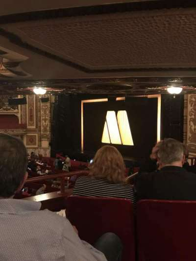 Cadillac Palace Theater, section: DCIRFR, row: Kk, seat: 8