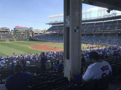 Wrigley Field, section: 208, row: 9, seat: 105