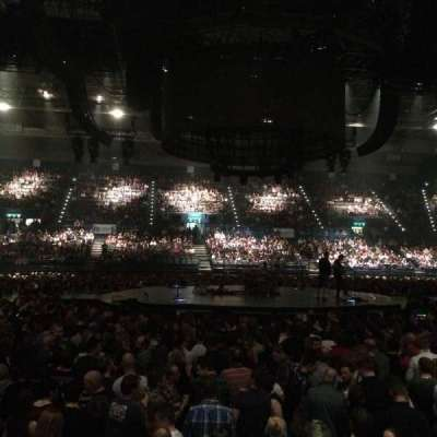 Genting Arena, section: 10 (Lower), row: H, seat: 453/454