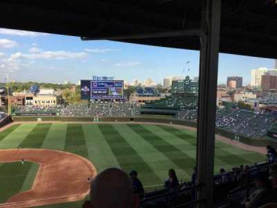 Wrigley Field, section: 530, row: 5, seat: 110