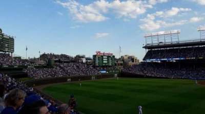 Wrigley Field, section: Bleachers 302, row: 13, seat: 5-6