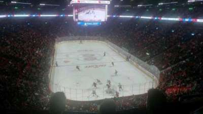 Centre Bell, section: 220, row: C, seat: 1