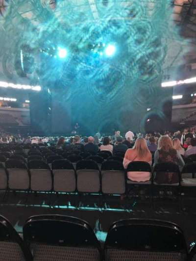 American Airlines Center, section: Floor, row: M, seat: 6