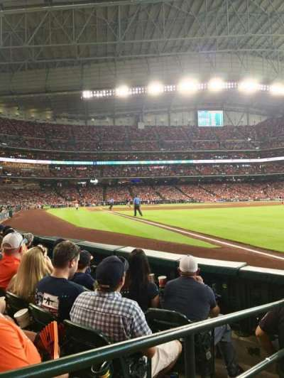 Minute Maid Park, section: 133, row: 4, seat: 1