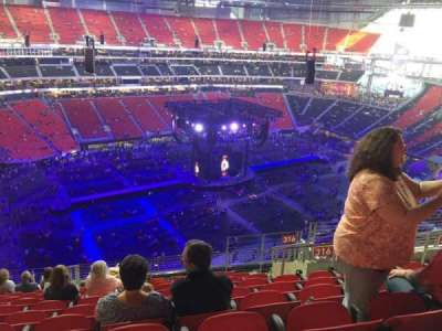 Mercedes-Benz Stadium, section: 316, row: 13, seat: 9