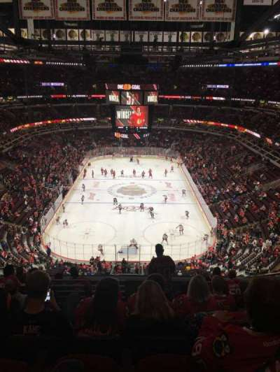 United Center, section: 326, row: 10, seat: 6