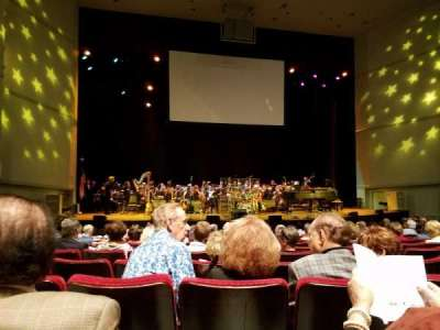 Bob Carr Theater, section: Orchestra Left, row: A, seat: 19