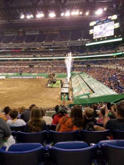 Lucas Oil Stadium section 235