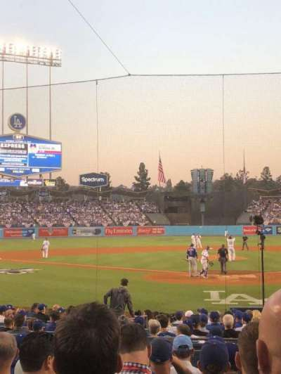 Dodger Stadium, section: 5FD, row: J, seat: 2