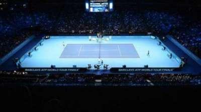 The O2 Arena, section: 111, row: U, seat: 56