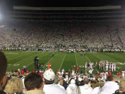 Beaver Stadium section WE