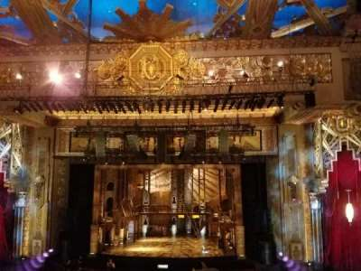 Pantages Theatre (Hollywood), section: Mezzanine C, row: E, seat: 101