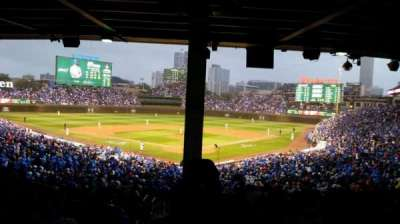 Wrigley Field, section: 220, row: 15, seat: 1