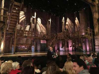 Richard Rodgers Theatre, section: Orchestra Left, row: F, seat: 9