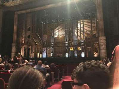 Pantages Theatre (Hollywood), section: Orchestra RC, row: K, seat: 201-202