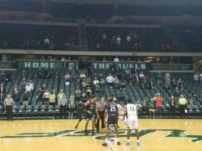 USF Sun Dome, section: 114, row: C, seat: 1