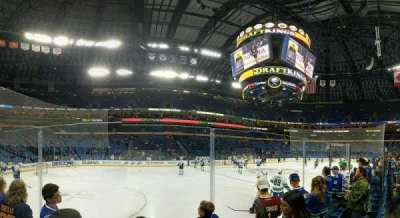 KeyBank Center, section: 106, row: 3, seat: 20