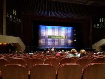 Miller Auditorium, section: Orchestra Left, row: 18, seat: 19