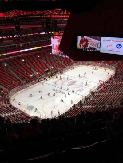 Little Caesars Arena, section: 216, row: 11, seat: 12