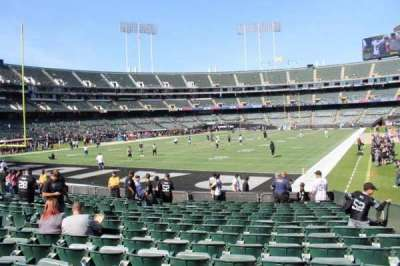 Oakland Alameda Coliseum, section: 103, row: 17, seat: 3