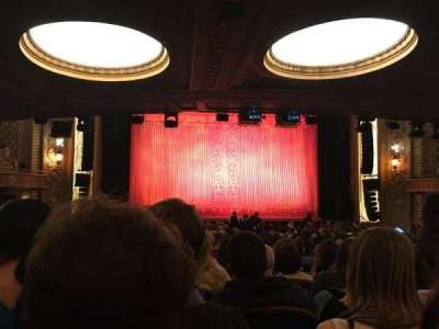 The Paramount Theatre, section: MF3, row: FF, seat: 5