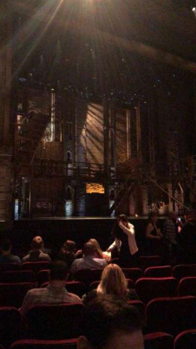 Pantages Theatre (Hollywood), section: Orchestra LC, row: J, seat: 309
