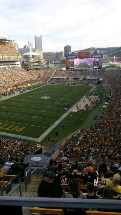 Heinz Field section 527