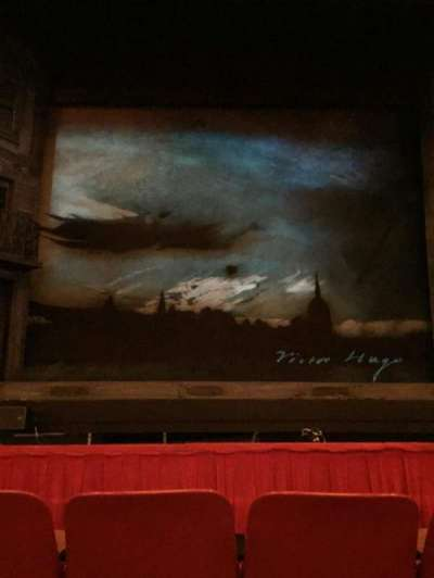 Cadillac Palace Theater, section: Orchestra C, row: C, seat: 107