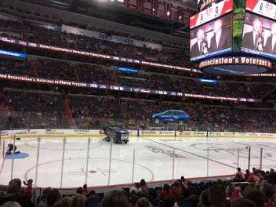 Capital One Arena, section: 120, row: O, seat: 5