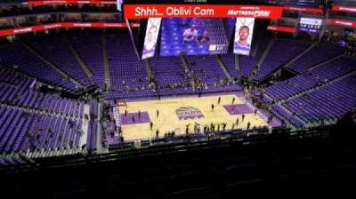 Golden 1 Center Section 206 Row L Seat 15