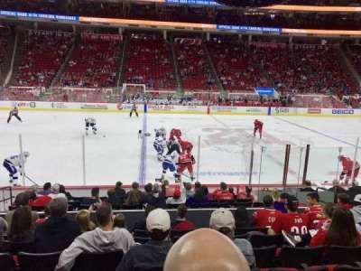PNC Arena, section: 120, row: M, seat: 8