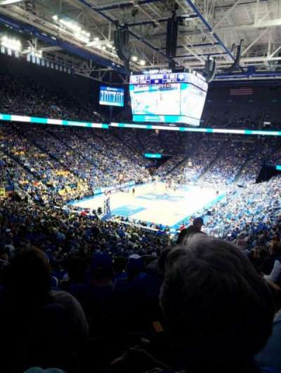 Rupp Arena, section: 20, row: W, seat: 4