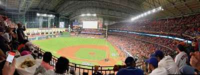 Minute Maid Park, section: 315, row: 2, seat: 9