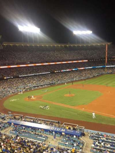 Dodger Stadium, section: Infield Reserve VIP 28, row: A, seat: 2