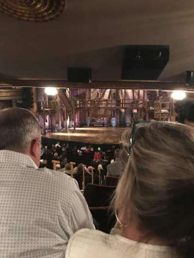 Richard Rodgers Theatre, section: Orchestra R, row: V, seat: 4