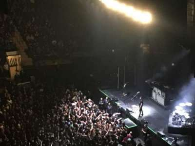 Madison Square Garden, section: 311, row: 1, seat: 11