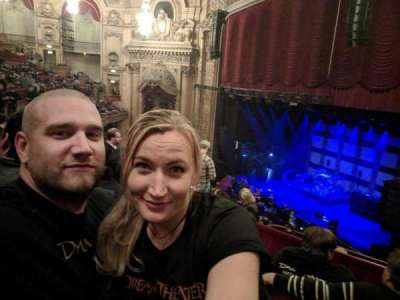 Chicago Theatre, section: Balcony 1R, row: C, seat: 110