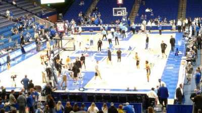 Rupp Arena, section: 38, row: T, seat: 8