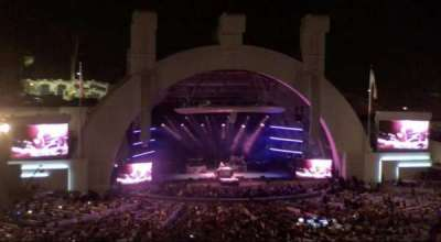Hollywood Bowl, section: N3, row: 21, seat: 11