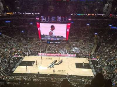 AT&T Center section 224