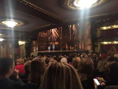 CIBC Theatre, section: Orchestra L, row: V, seat: 5