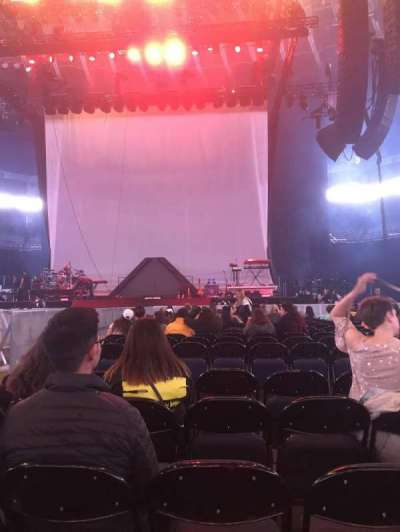 Oracle Arena, section: C, row: 17, seat: 5