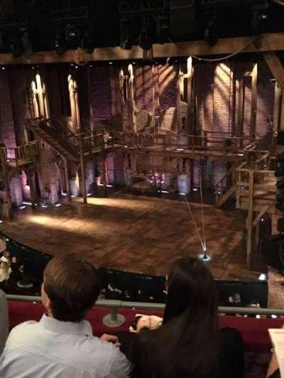 Richard Rodgers Theatre, section: fmezz, row: C, seat: 18