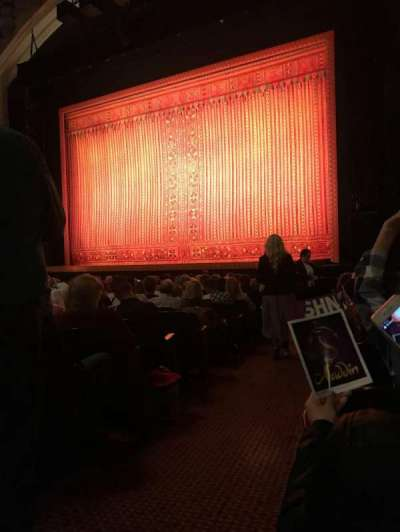 Orpheum Theatre (San Francisco), section: Orchestra R, row: P, seat: 2