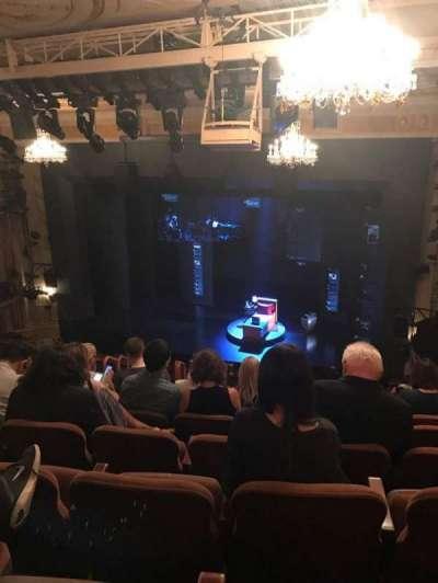Music Box Theatre, section: Mezzanine Sides, row: L, seat: 14