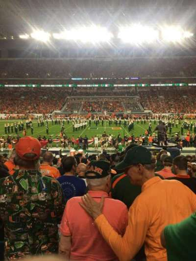 Hard Rock Stadium, section: 118, row: 16, seat: 14