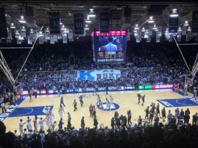Cameron Indoor Stadium, section: 6, row: L, seat: 15